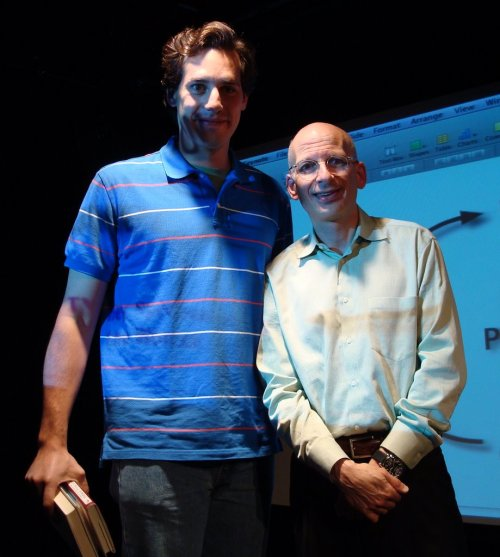 Seth Godin e Miguel Cavalcanti