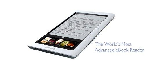 Nook, da B&N, para você não pensar que o Kindle da Amazon está sozinho nesse mercado